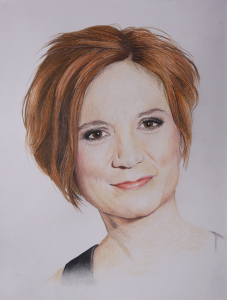Pamela Rachel, Zeichnung von Sandra Huber